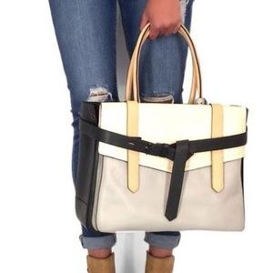 Reed Krakoff Italian Leather XL Boxer Tote